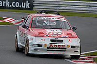 #81 Paul Connell Ford Sierra RS500 (T) 1993 during the CSCC Special Saloons and Modsports at Oulton Park, Little Budworth, Cheshire, United Kingdom. October 15 2016. World Copyright Peter Taylor/PSP. <br /> Copy of publication required for printed pictures.  Every used picture is fee-liable. http://archive.petertaylor-photographic.co.uk