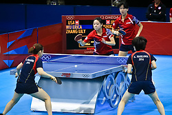 Doubles Table Tennis.