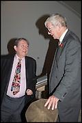 JAMES MAYOR; CHRISTOPHER GIBBS, Allen Jones private view. Royal Academy,  London. 11 November  2014.