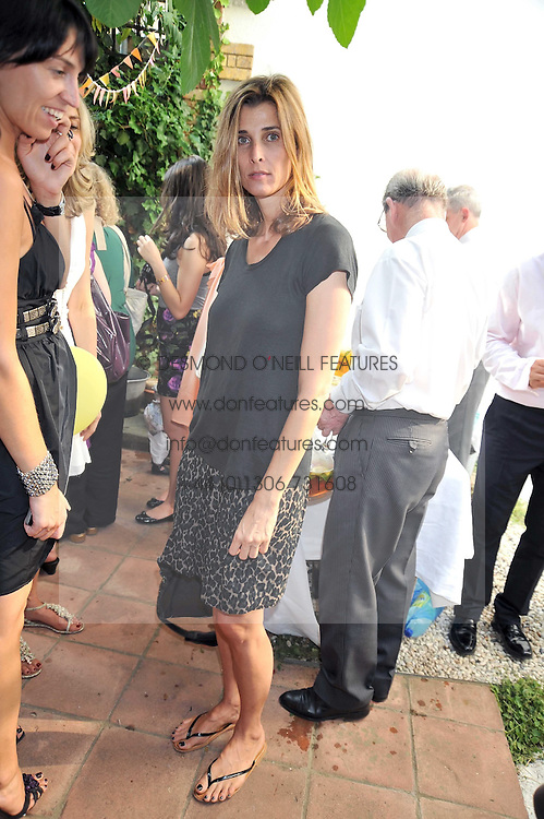 PRINCESS ROSSARIO OF BULGARIA at the 10th anniversary party of the store Caramel, Ledbury Road, London W11.  The party was held in association with the Naked Heart Foundation - a charity set up by model Natalia Vodianova.