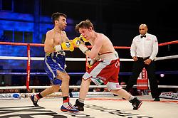 Lee Haskins defeats Luke Wilton in their Bantamweight bout - Photo mandatory by-line: Rogan Thomson/JMP - Tel: 07966 386802 - 01/03/2014 - SPORT - BOXING - The City Academy, Bristol - James DeGale v Gevorg Khatchikian.