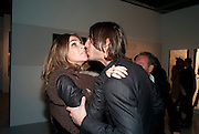 CARINE ROITFELD; VLADIMIR RESTOIN ROITFELD, Richard Hambleton private view.- New York- Godfather of Street art presented by Vladimir Restoin Roitfeld and Andy Valmorbida in collaboration with Giorgio armani. The Old Dairy. London. 18 November 2010. -DO NOT ARCHIVE-© Copyright Photograph by Dafydd Jones. 248 Clapham Rd. London SW9 0PZ. Tel 0207 820 0771. www.dafjones.com.