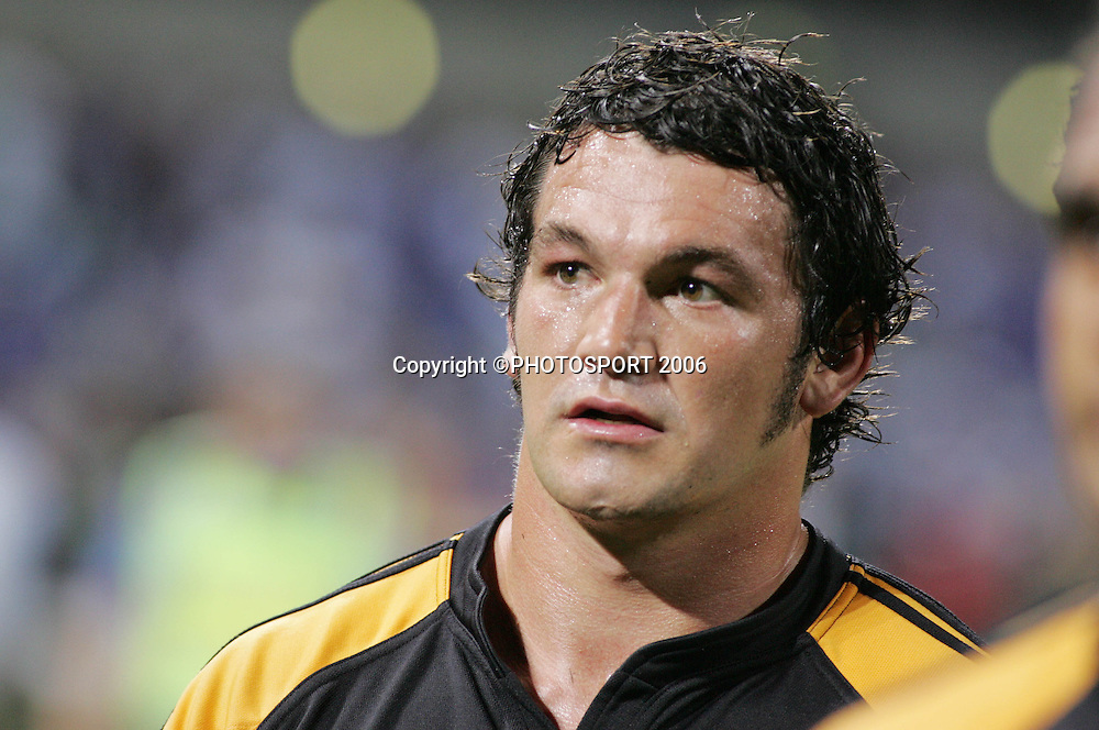 Chiefs Simms Davison during the 2006 Super 14 rugby union match between the Western Force and the Chiefs at Subiaco Oval, Perth, Western Australia, on Friday 24 February, 2006. The Chiefs won the match 26-9. Photo: Christian Sprogoe/PHOTOSPORT<br />