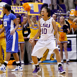 02-05-2012 Kentucky Wildcats at LSU Lady Tigers