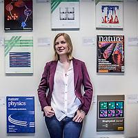 Nederland, Utrecht, 12 mei 2016.<br /> Ans Hekkenberg werkt bij FOM (stichting Fundamenteel Onderzoek der Materie) en is onlangs benoemd tot Ambassadeur voor het Techniek Pact. Zij probeert meisjes te stimuleren om voor een toekomst in de techniek te kiezen.<br /> <br /> Foto: Jean-Pierre Jans