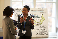 Leaders from the government, nonprofit, and corporate worlds came to the American Red Cross headquarters in Washington D.C., on Tuesday, November 15, 2011, to brainstorm ideas on improving leadership in nonprofit sectors of the economy at the White House Forum on Nonprofit Leadership. The forum was sponsored by the White House Office of Faith-based and Neighborhood Partnerships and the Office of Social Innovation and Civic Participation with major support provided by American Express, Aspen Institute, Corporation for National and Community Service, Annie E. Casey Foundation, Center for Creative Leadership, Commongood Careers, Independent Sector, and Public Allies.