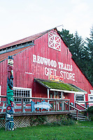Gift shop in Redwood National Park, CA