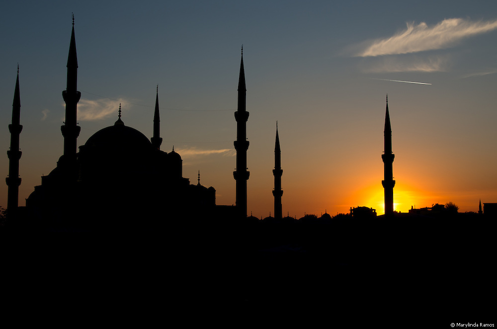 The Blue Mosque (better known as Sultanahmet Camii) is the only mosque permitted to have six minarets.