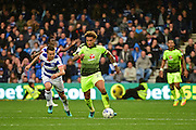 Reading midfielder Danny Williams (23) makes a break during the EFL Sky Bet Championship match between Queens Park Rangers and Reading at the Loftus Road Stadium, London, England on 15 October 2016. Photo by Jon Bromley.