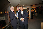 Sir Timothy Clifford, Brian Ivory and David Ker, The opening  day of the Grosvenor House Art and Antiques Fair.  Grosvenor House. Park Lane. London. 14 June 2006. ONE TIME USE ONLY - DO NOT ARCHIVE  © Copyright Photograph by Dafydd Jones 66 Stockwell Park Rd. London SW9 0DA Tel 020 7733 0108 www.dafjones.com