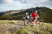 The Wasatch Crest Trail with Mike Montgomery and Chris Akrigg.
