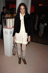 ASTRID MUNOZ at the Art Plus Drama party Held at the Whitechapel Art Gallery, London E1 on 8th March 2007. <br />
