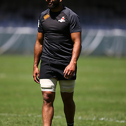 Michael Leitch of the Sunwolves during the HITO-Communications Sunwolves  Captains Run at Jonsson Kings Park ,Durban.South Africa. 09,03,2018 (Photo by Steve Haag)