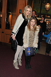 DONNA AIR and her daughter FREYA ASPINALL attens the premier of 2012 Cirque du Soleil's Totem at the Royal Albert Hall, London on 5th January 2012,