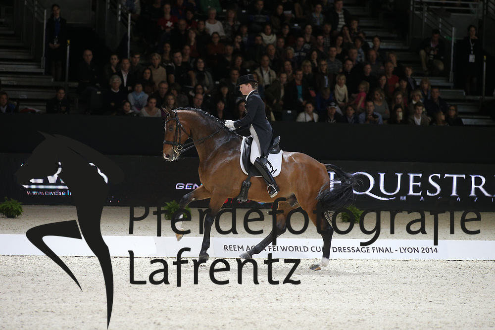 Werth, Isabell, El Santo NRW<br /> Lyon - Weltcup Finale<br /> Kür<br /> © www.sportfotos-lafrentz.de/Stefan Lafrentz