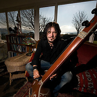 Canadian musician Jeff Martin at his home on the Sheeps head in West Cork for Hot Press Magazine.
