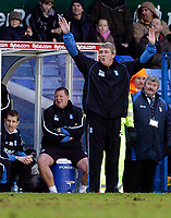 Photo: Leigh Quinnell.<br /> Birmingham City v Newcastle United. The FA Cup. 06/01/2007. Birmingham manager Steve Bruce on the touch line.