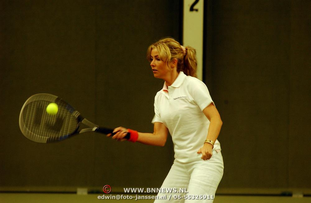 Tennisclinic Hilversum Open 2004, Brigitte Nijman