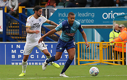 George Boyd of Peterborough United in action with Giles Phillips of Wycombe Wanderers - Mandatory by-line: Joe Dent/JMP - 05/10/2019 - FOOTBALL - Adam's Park - High Wycombe, England - Wycombe Wanderers v Peterborough United - Sky Bet League One