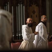 NEW YORK,NY 28 MAY: Images from the Ordination Mass at St Patricks Cathedral in New York City, celebrated and presided by Timothy Cardinal Dolan of the Archdiocese of New York.