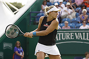 Kerber (GER) Vs Stosur (AUS) Action at the Nature Valley International 2019 at Devonshire Park, Eastbourne, United Kingdom on 25th June 2019. Picture by Jonathan Dunville