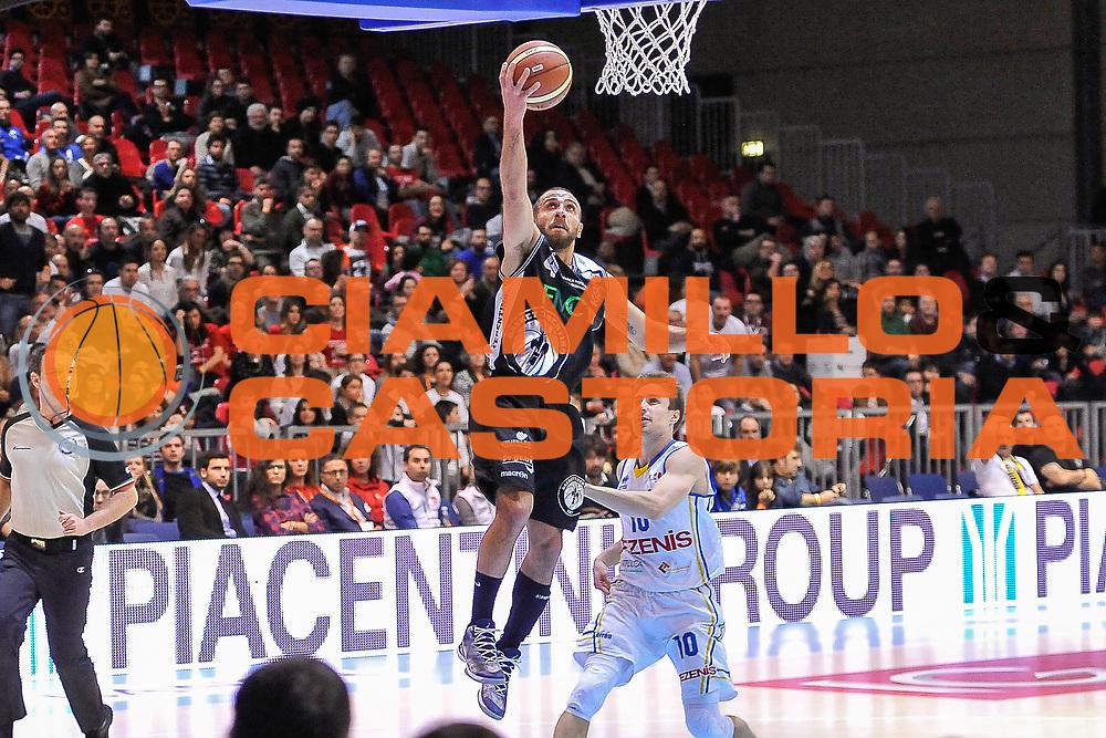DESCRIZIONE : Final Six Coppa Italia A2 IG Cup RNB Rimini 2015 Finale FMC Ferentino - Tezenis Scaligera Verona<br /> GIOCATORE : Francesco Guarino<br /> CATEGORIA : Tiro Penetrazione Sottomano<br /> SQUADRA : FMC Ferentino<br /> EVENTO : Final Six Coppa Italia A2 IG Cup RNB Rimini 2015<br /> GARA : FMC Ferentino - Tezenis Scaligera Verona<br /> DATA : 08/03/2015<br /> SPORT : Pallacanestro <br /> AUTORE : Agenzia Ciamillo-Castoria/L.Canu