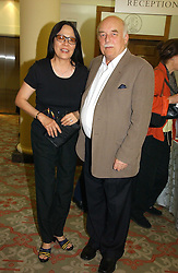 LORD & LADY TANLAW at a private view of the forthcoming sale 'Property from the collection of HRH The Princess Margaret, Countess of Snowdon' and a private view of art by Marina Karella Princess Michael of Greece, held at Christie's, 8 King Street, London SW1 on 12th June 2006.<br />