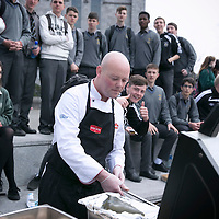 FREE IMAGE-NO REPRO FEE. University College Cork, Spring Open Day 2015. Photographed Cooking up a storm.  Photo by Tomas Tyner, UCC.