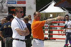 Vrieling Jur (NED), Thijssen Leon (NED)<br /> FEI NAtions Cup of Rome 2012<br /> © Hippo Foto - Beatrice Scudo