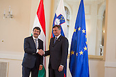 27052013 - Official visit from Hungarian president Janos Ader to Slovenia