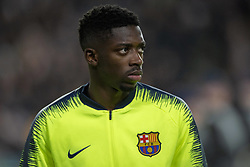 November 28, 2018 - Eindhoven, Netherlands - Ousmane Dembele of Barcelona during the UEFA Champions League Group B match between PSV Eindhoven and FC Barcelona at Philips Stadium in Eindhoven, Netherlands on November 28, 2018  (Credit Image: © Andrew Surma/NurPhoto via ZUMA Press)