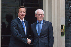 2014-06-23 Herman Van Rumpuy Visits Downing Street