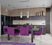 Photography of Modern contemporary apartment interior in Warsaw Poland