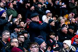 Bristol City fans at Blackburn Rovers - Mandatory by-line: Robbie Stephenson/JMP - 09/02/2019 - FOOTBALL - Ewood Park - Blackburn, England - Blackburn Rovers v Bristol City - Sky Bet Championship