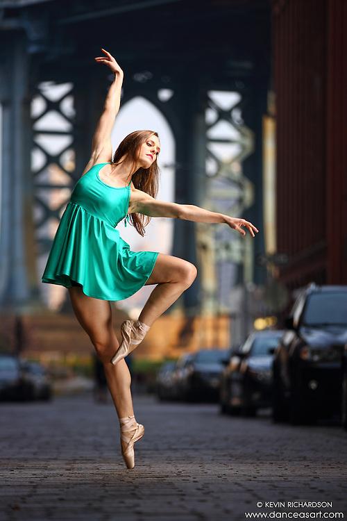 Dance As Art  New York City Photography Dumbo Series with Jenna MacVicar
