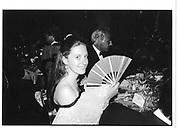 Countess Marie Brandolini d'Adda. Venice party. 1992 approx. © Copyright Photograph by Dafydd Jones 66 Stockwell Park Rd. London SW9 0DA Tel 020 7733 0108 www.dafjones.com
