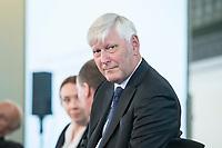 06 JUN 2018, BERLIN/GERMANY:<br /> Dr. Rolf Martin Schmitz, Vorstandsvorsitzender RWE AG, 27. BBH-Energiekonferenz &quot;Die Energiewende&quot;, Franzoesische Friedrichstadtkirche<br /> IMAGE: 20180606-01-150