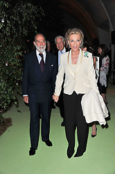 TRH PRINCE & PRINCESS MICHAEL OF KENT at a dinner hosted by Cartier in celebration of the Chelsea Flower Show held at Battersea Power Station, 188 Kirtling Street, London SW8 on 23rd May 2011.