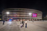 BILBAO, SPANIEN - 2017-11-02: Generell vy inf&ouml;r UEFA Europa League group J matchen mellan Athletic Bilbao och &Ouml;stersunds FK p&aring; Estadio San Mam&eacute;s den 2 November, 2017 i Bilbao, Spanien. <br /> Foto: Nils Petter Nilsson/Ombrello<br /> ***BETALBILD***
