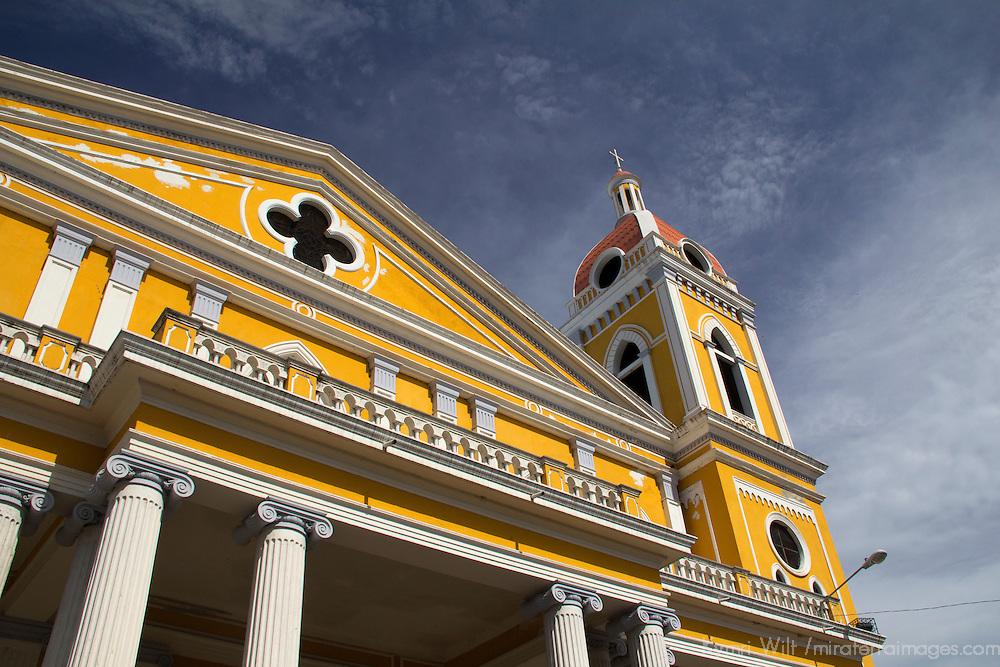 Central America, Nicaragua, Granada. Cathedral of Granada;