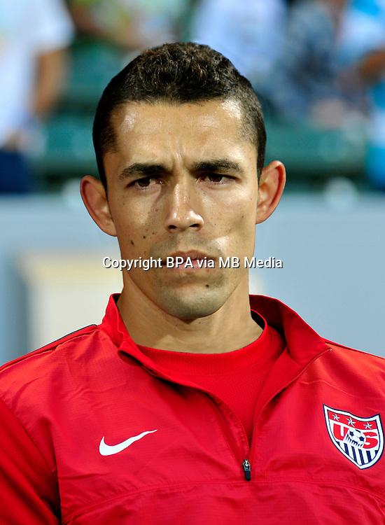 Football Fifa Brazil 2014 World Cup / <br /> Usa Soccer National Team - MNT -<br /> Herculez Gomez of Usa