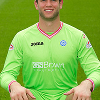 St Johnstone FC...Season 2011-12<br /> Alan Mannus<br /> Picture by Graeme Hart.<br /> Copyright Perthshire Picture Agency<br /> Tel: 01738 623350  Mobile: 07990 594431