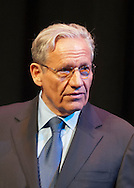 March 20, 2012 - Hempstead, New York, U.S. - BOB WOODWARD, investigative journalist, speaks on 40th Anniversary of the Watergate political scandal, at Hofstra University. The lecture was about Woodward and Bernstein's investigation, while Washington Post reporters, into the break-in, and its cover-up, of the Democratic National Headquarters at the Watergate office complex in Wash. DC, which lead to the resignation of Pres. Nixon.
