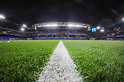 A general view inside Stamford Bridge Stadium prior to the Champions League match between Chelsea and Lille OSC at Stamford Bridge, London, England on 10 December 2019.