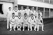 22/05/1964<br /> 05/22/1964<br /> 22 May 1964<br /> Interprovincial Cricket : Leinster v Munster at Old Belvedere Ground, Dublin. The Munster team.