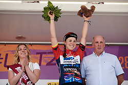 Lisa Klein (GER) retains the sprint jersey at Lotto Thüringen Ladies Tour 2019 - Stage 5, a 17.9 km individual time trial in Meiningen, Germany on June 1, 2019. Photo by Sean Robinson/velofocus.com