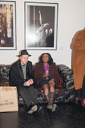 ANDY MURCH; JORETTA PRICE, Drag Queens, Rent Boys, Pick Pockets, Junkies, Rockstars and Punks,, Leee Black Childers ,  book launch and exhibition opening. <br />  The Vinyl Factory Chelsea, Walton St. London. 5 December 2012.
