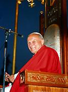 John Paul II (Karol Jozef Wojtyla (1920-2005) Pope from 1978. Photograph.
