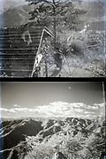 nature hiking trip Japan ca 1940s