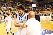Vitali Michele<br /> Germani Basket Brescia vs Sidigas Avellinp<br /> Campionato Basket LBA 2017/2018<br /> Brescia 10/08/2017<br /> Foto Ciamillo-Castoria/A. Gilardi